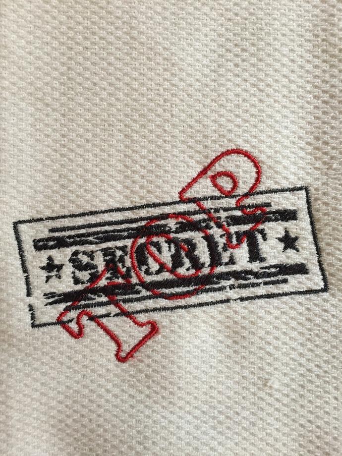 TOP SECRET kitchen towel