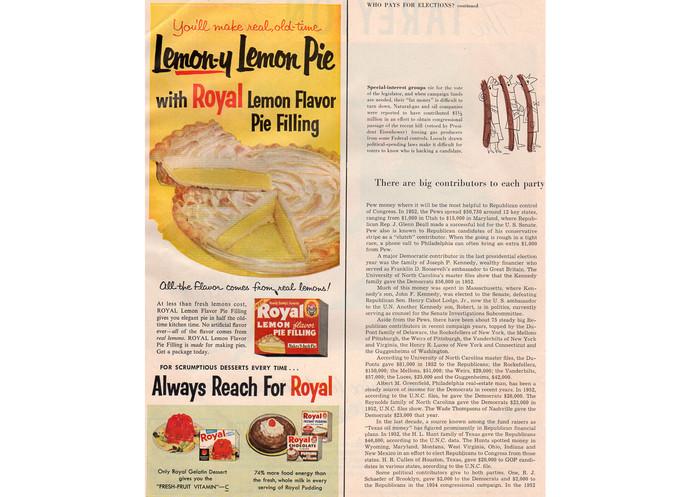 1950s Tareyton Cigarette Ad, Vintage Tobacciana Advertising, Magazine Print Ad,