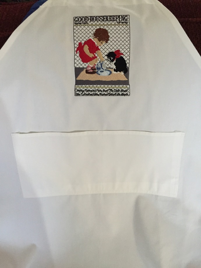 GOOD HOUSEKEEPING bibbed apron