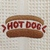HOT DOG kitchen towel