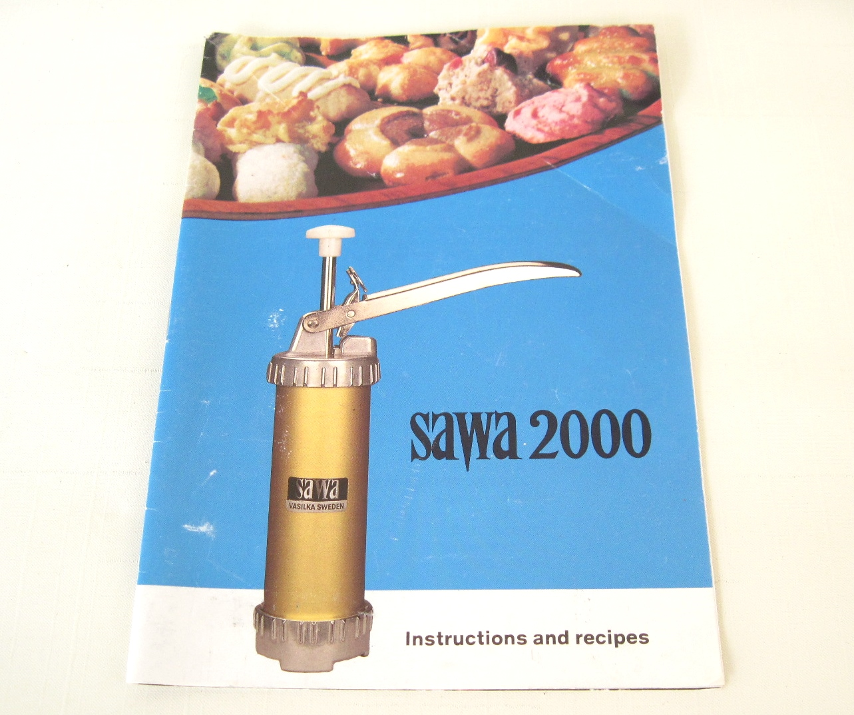 sawa cookie press instructions