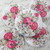 5pcs Wooden Buttons - 30mm Soft Shabby Floral