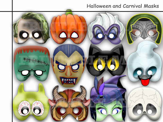 Halloween Monster Printables Unique Halloween Printable