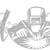 Welding Vinyl Decal Design C Script  - Welder WELD LIFE Sticker