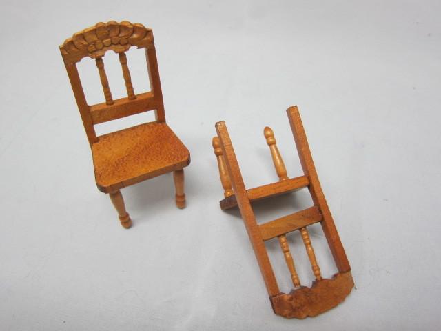 Miniature Chair - Wood