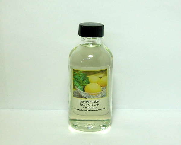 Lemon Pucker Reed Diffuser