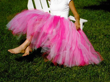 Tea Length Adult tutu - 1 or 2 colors