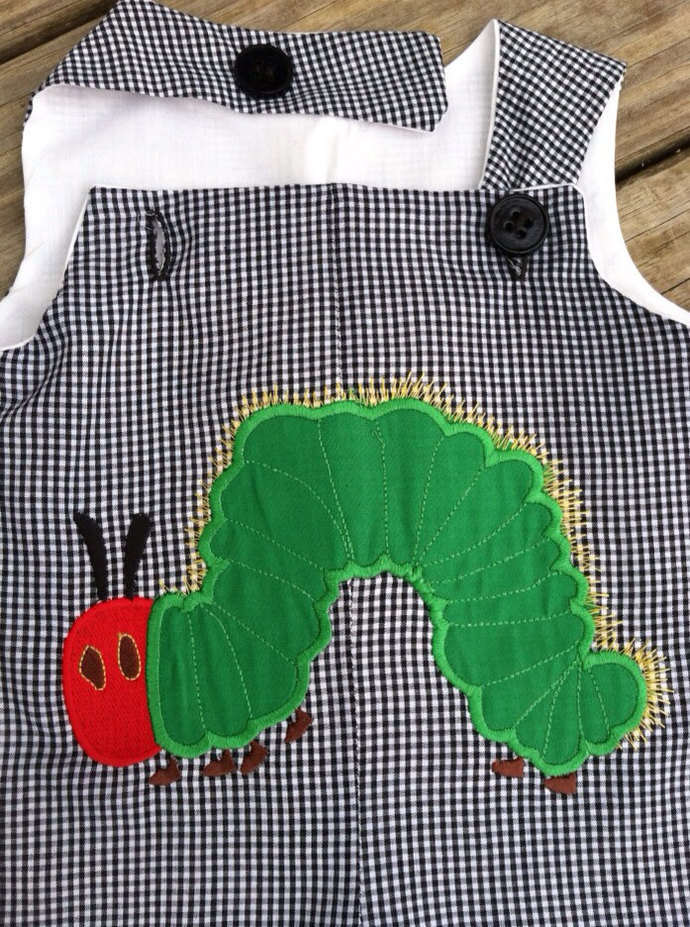 Overall jumper pants Hungry Caterpillar LONGALL, romper