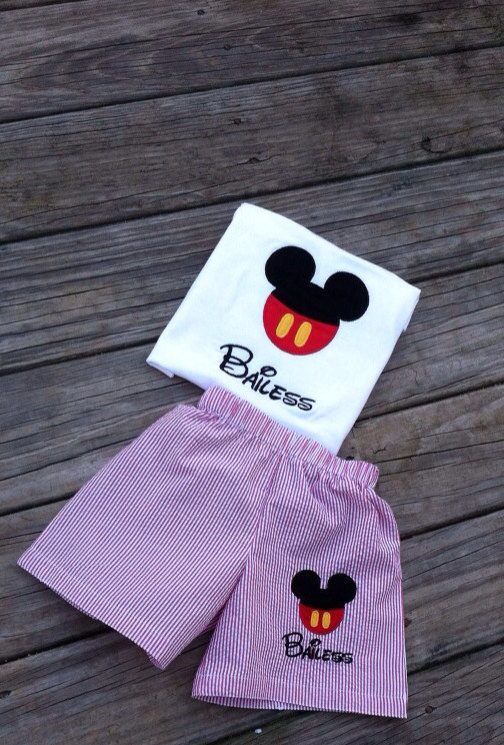 Mickey Mouse ears T shirt, FREE monogram name initials free free free