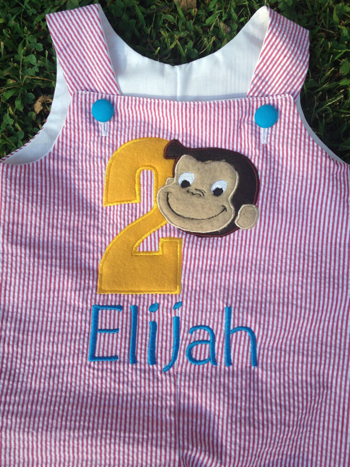 Little Monkey birthday outfit