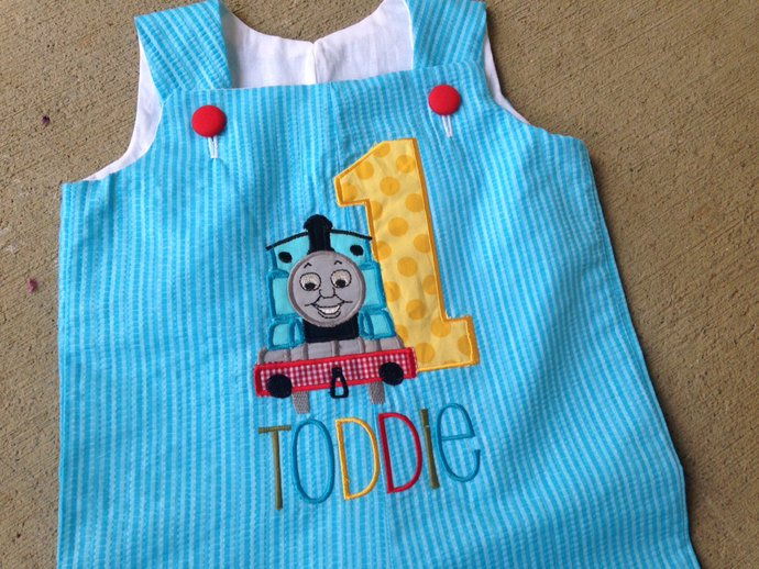 Shortall First birthday THomas The train SHORTALL