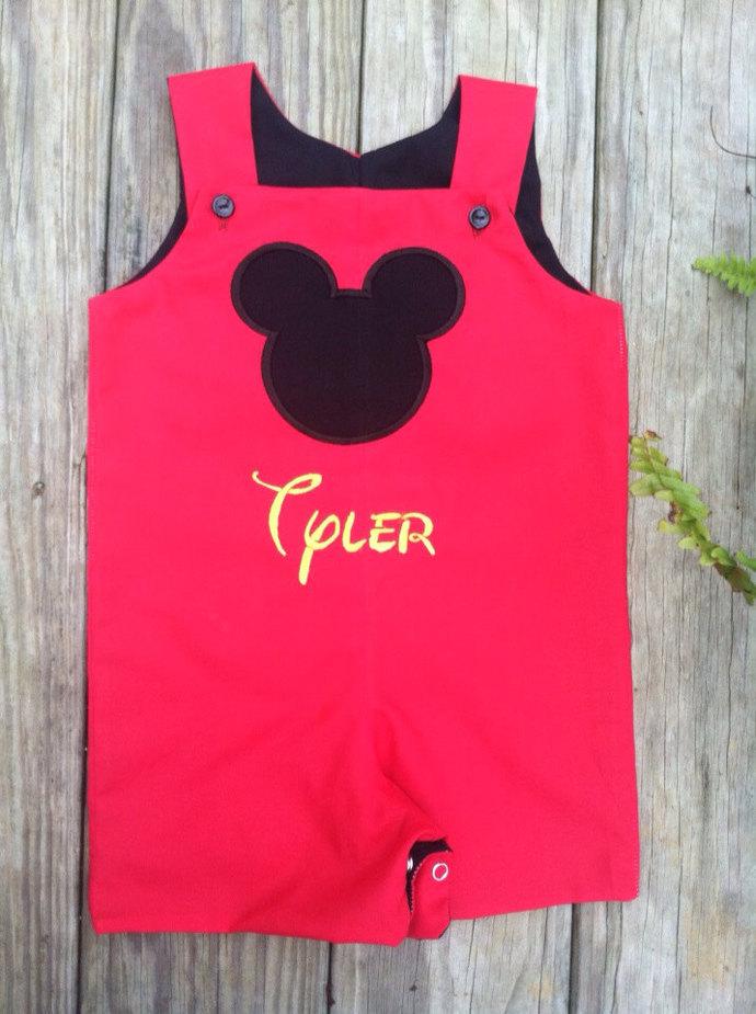 Mickey Mouse Jon jon, romper, shortall,