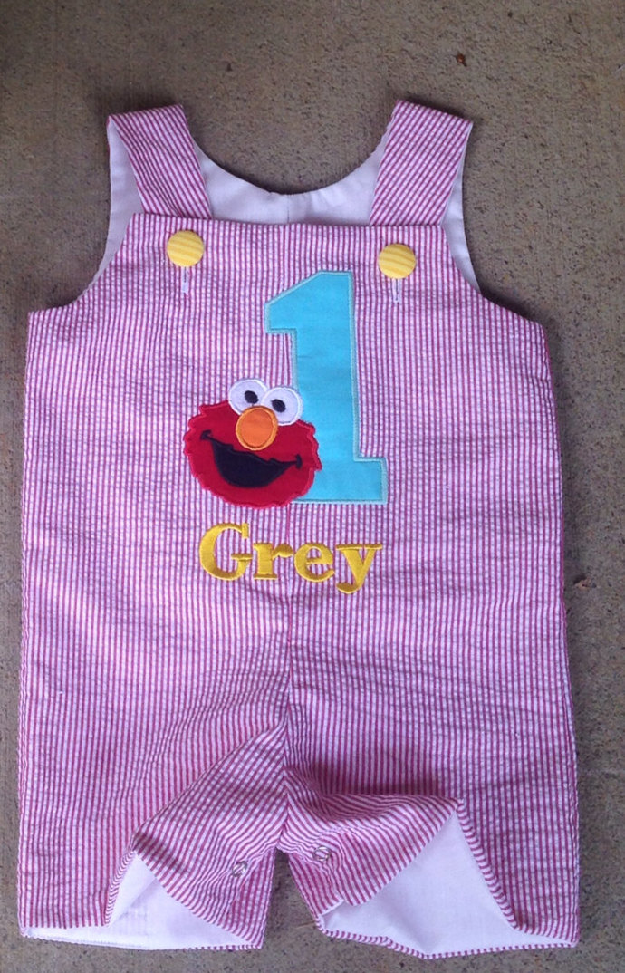Elmo Sesame Street Jon Jon, shortall