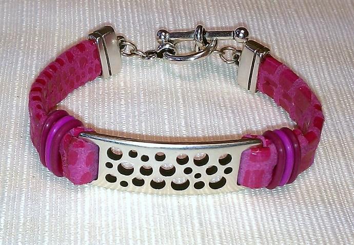 Cancun Leather Bracelet, Item #499