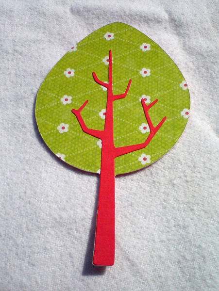 Tree 1 - Red