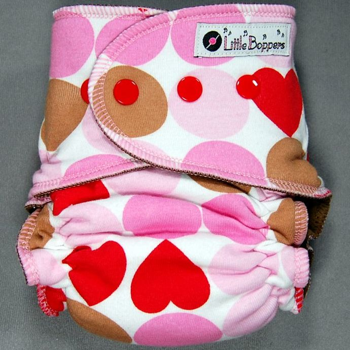 SALE! Medium Little Boppers� Wind Pro All-in-2 <br> Heart Dot Dot ~