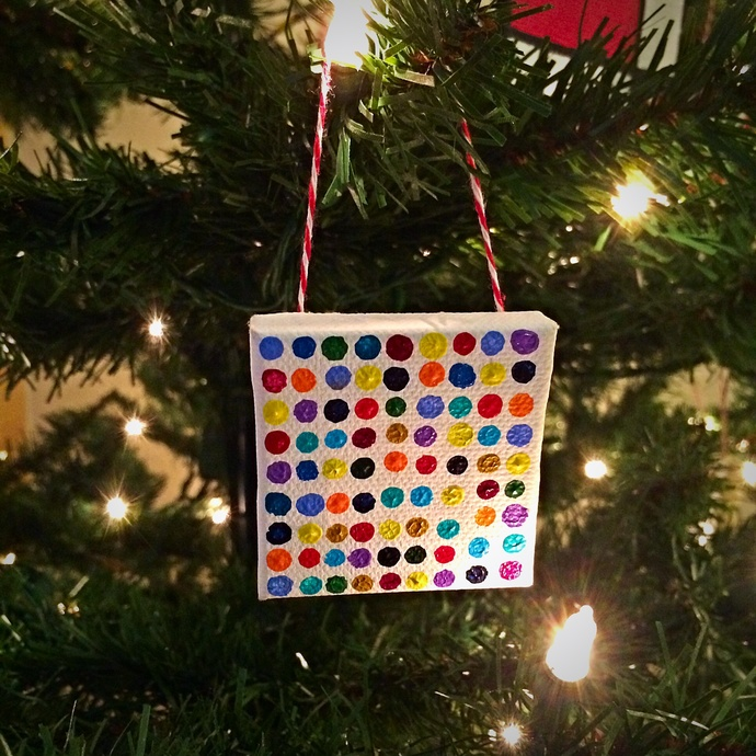Seeing Spots-tree ornament