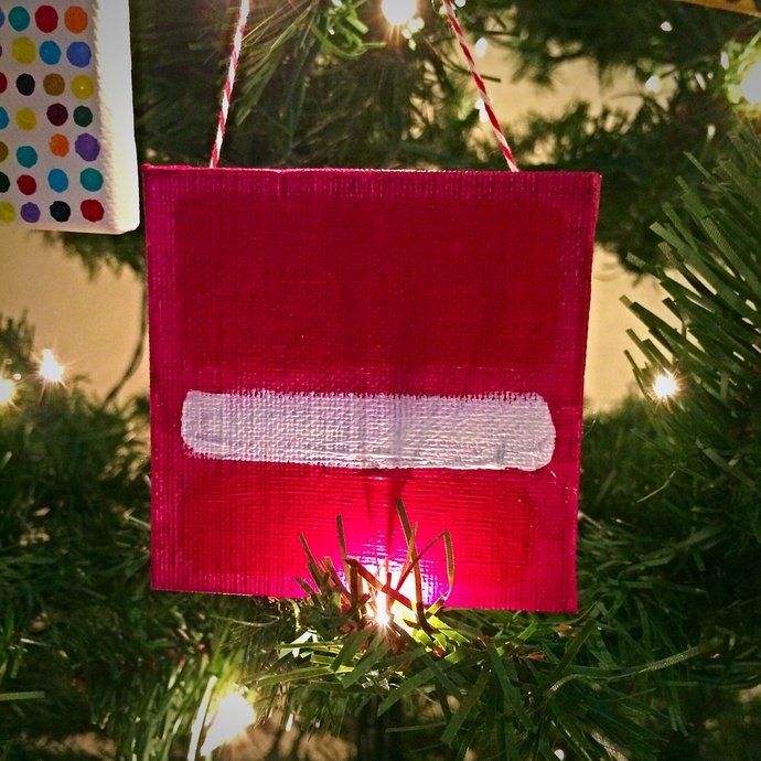 Express Yourself-tree ornament