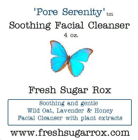 Gentle Organic Face Wash: Wild Oat Honey