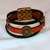 Euro Italian Leather Bracelet, Item #1416