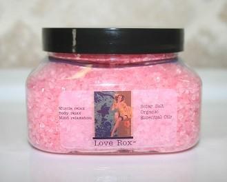 Sensuous Bath Salt: Pink Ylang Ylang