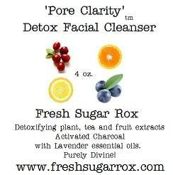 Acne Face Cleanser and Detox