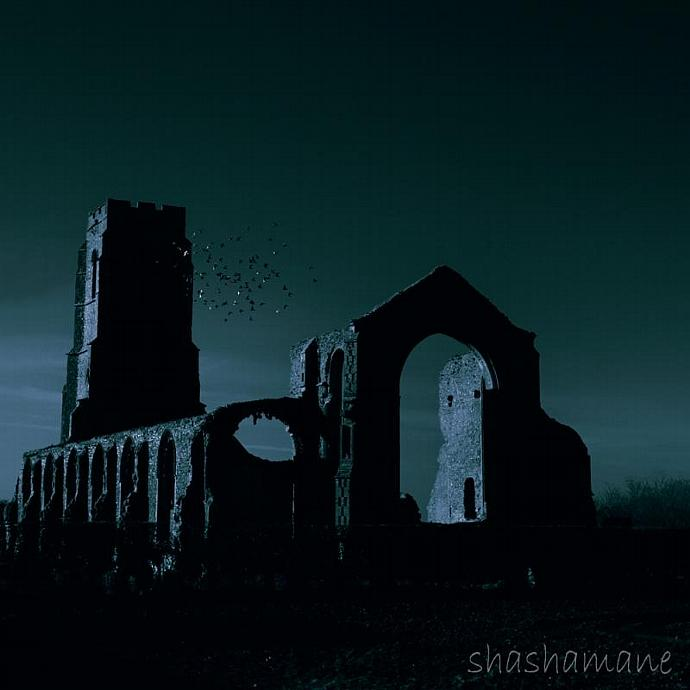"The Ruins 5 x 5"" fine art photography print"