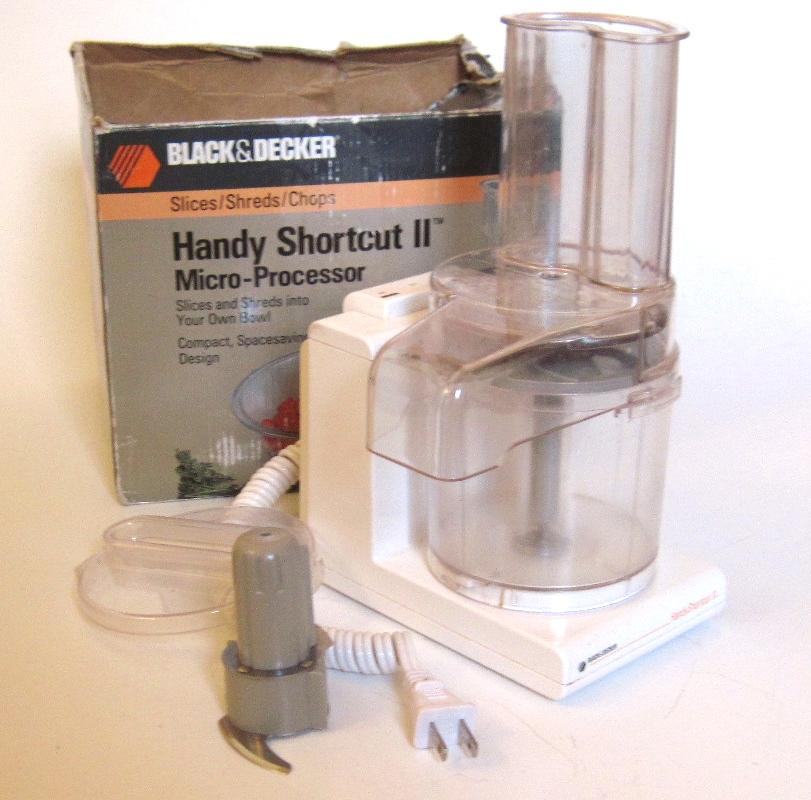 Black And Decker Shortcut Ii Food Processor Parts
