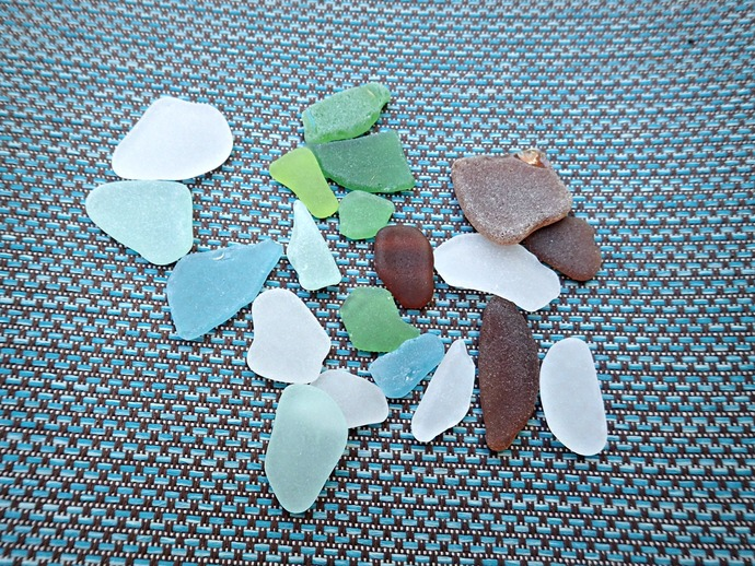 20 Pieces of Hawaiian Sea Glass