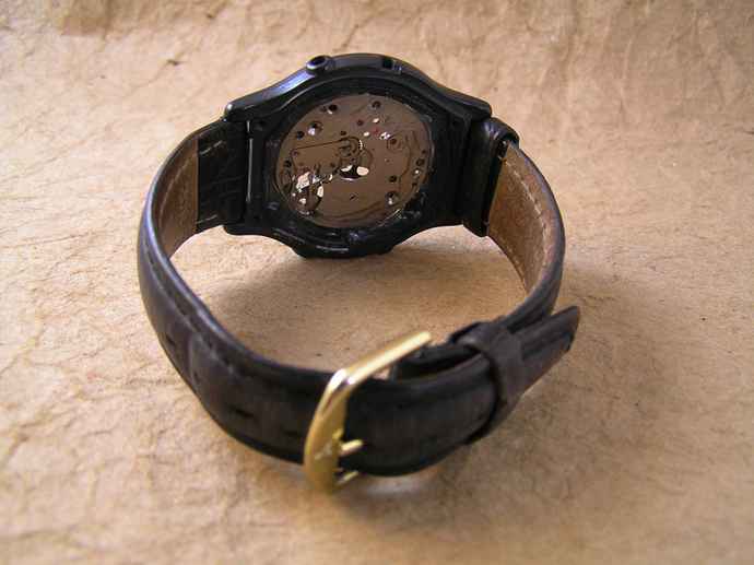 Steampunk gears watch band bracelet