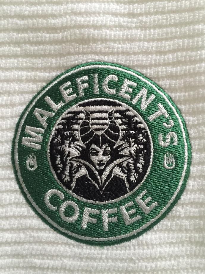 MALEFICENT'S COFFEE coffee bar towel