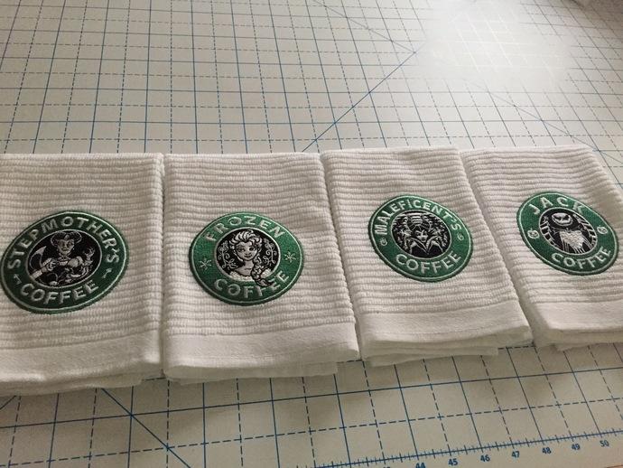 FROZEN COFFEE coffee bar towel