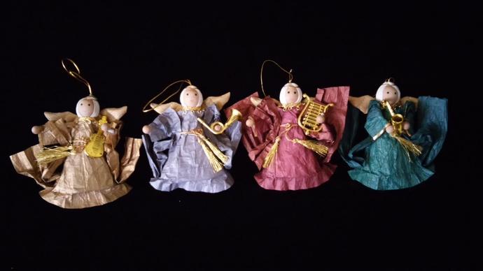 a quartet of musical angels