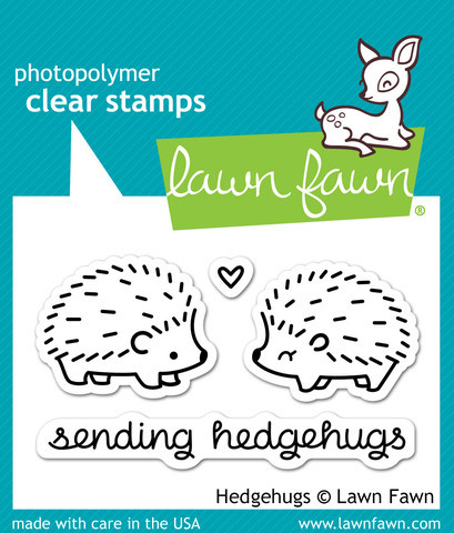 Lawn Fawn Hedgehugs Mini Stamp