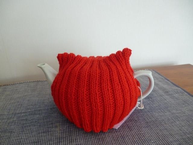 Knit Teapot Cozy - 6 Cup