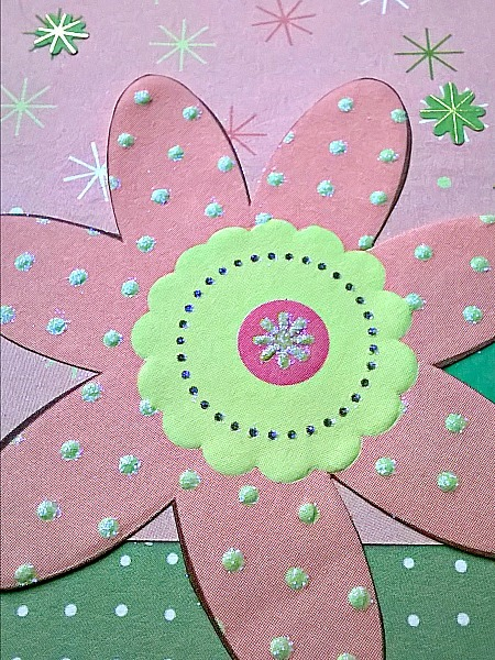 Farsi Sorry Pink Flower Card
