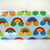 Rainbow Printed Wet Bag - Cosmetics, Snack or Mama Cloth Storage Pouch