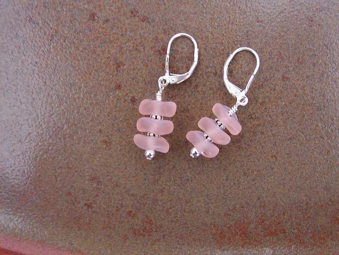 Handmade Pink Earrings