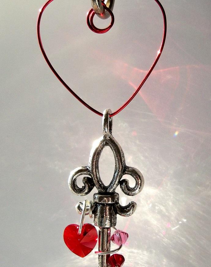 Unlock My Heart Sun Catcher