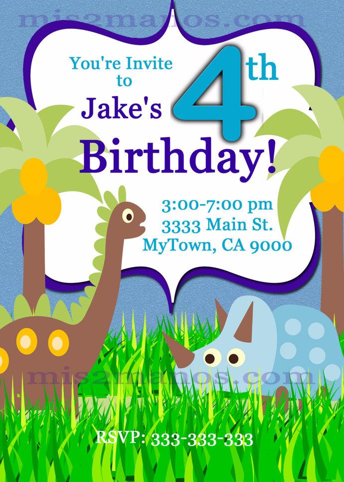 Dino Baby Shower Invitations Printable One Hour Printable Photo Dino Print at