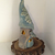 One-of-a-kind ART / Gnome House Clay Pottery Fairy House / Night Light  / Tree