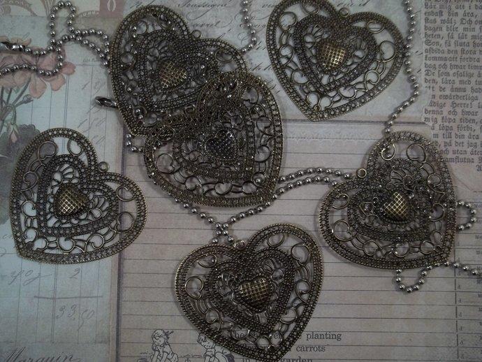 Bronze Filigree Embellishment (Item #023-B)