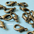 40 pcs of Antique Bronze Finish Lobster Clasp