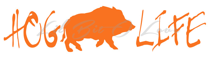 hog life design a vinyl decal sticker hunting by Duck Hunting Silhouette duck hunting clip art outline