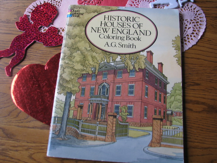 New Coloring Book : Dover coloring book historic houses of new scrappantry