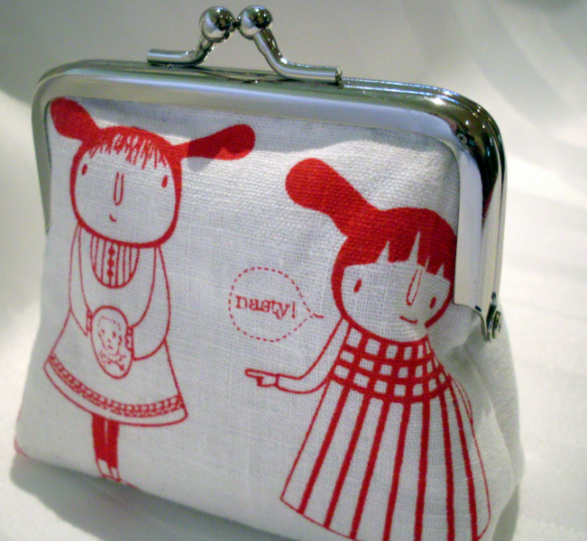 Little Cookies coin purse