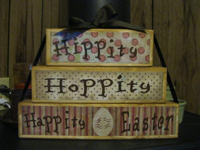 Hippity Hoppity Happity Easter Set 2 Blocks Soooo Cute