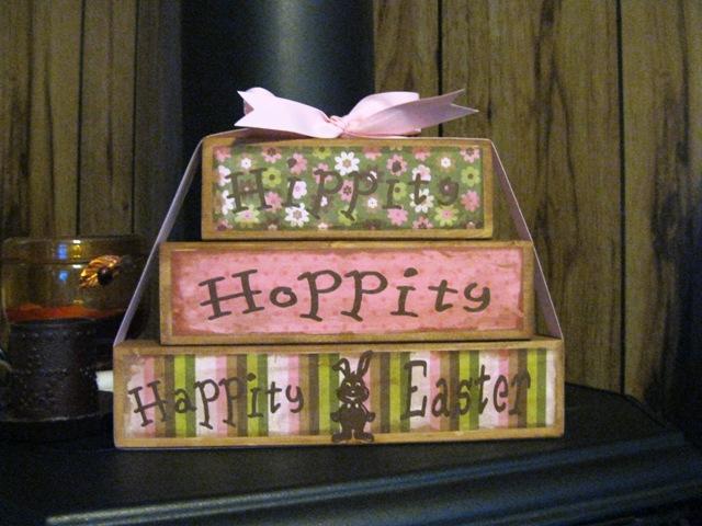 Hippity Hoppity Happity Easter Blocks Soooo Cute