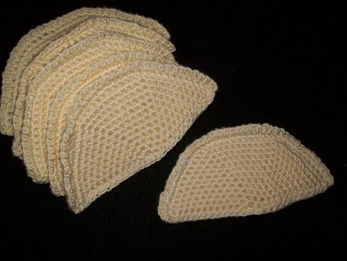 Bust Mops absorbent bra inserts set of 3 pair