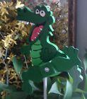 Whirligig Handcrafted Florida Gator  Mascot